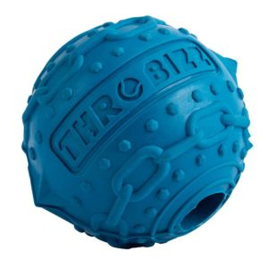 decorative pet ball in blue