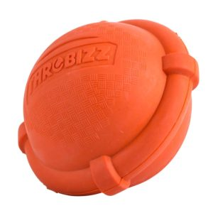 pet ball with lifesaver band around body